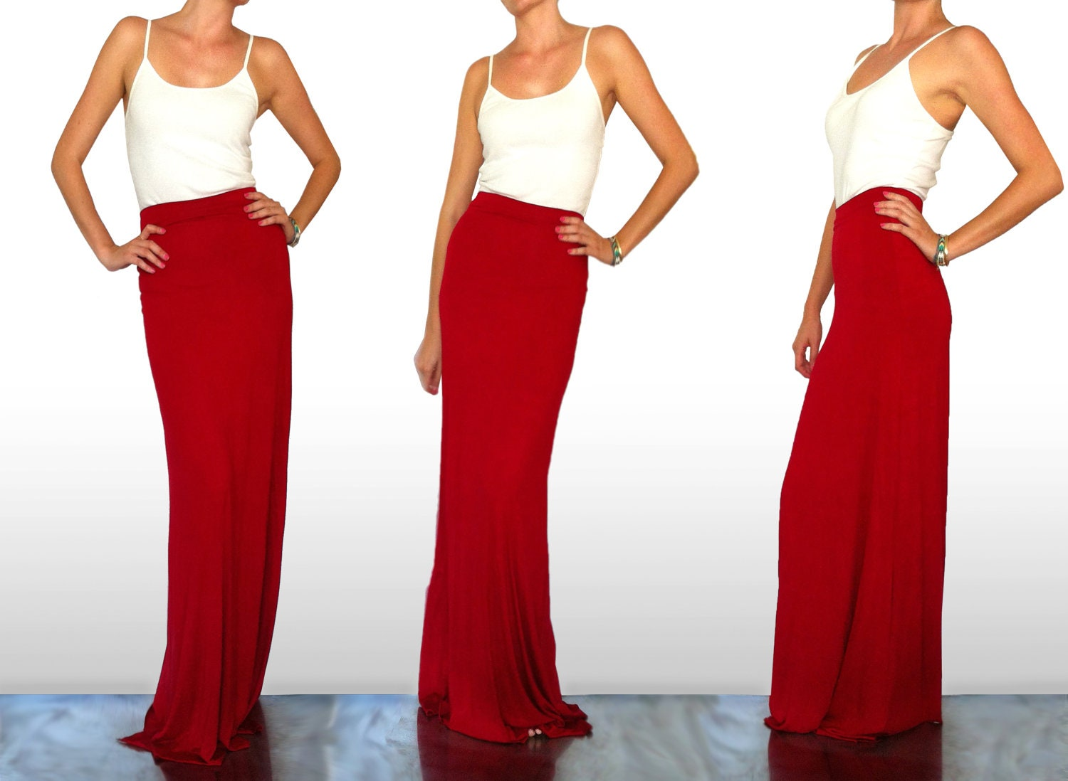 maxi skirt by sarahlmeyers on etsy