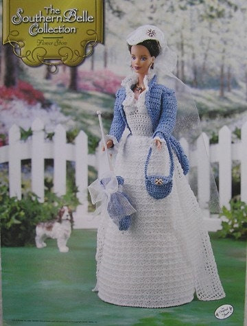Annies Calendar Bed Doll Crochet Pattern February 1996