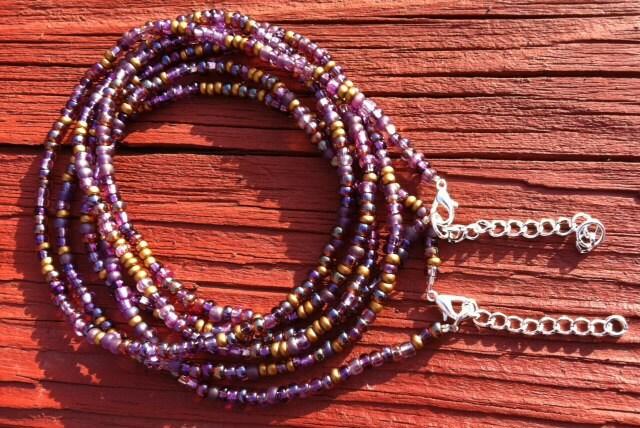 VELVET Set of 2 African Waist Beads