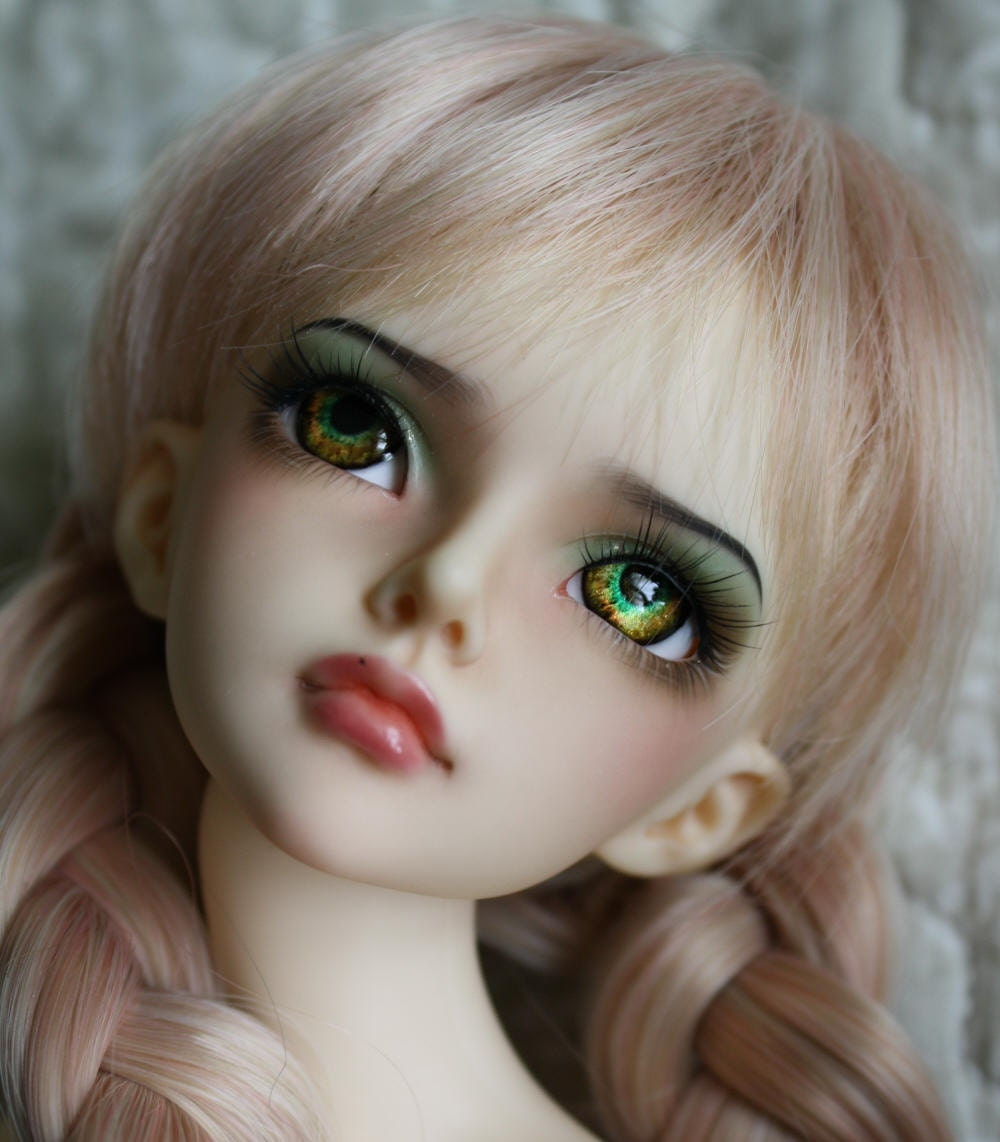 BJD eyes Doll eyes Hand made available in 12141618202224mm Magical Marjorie made to order