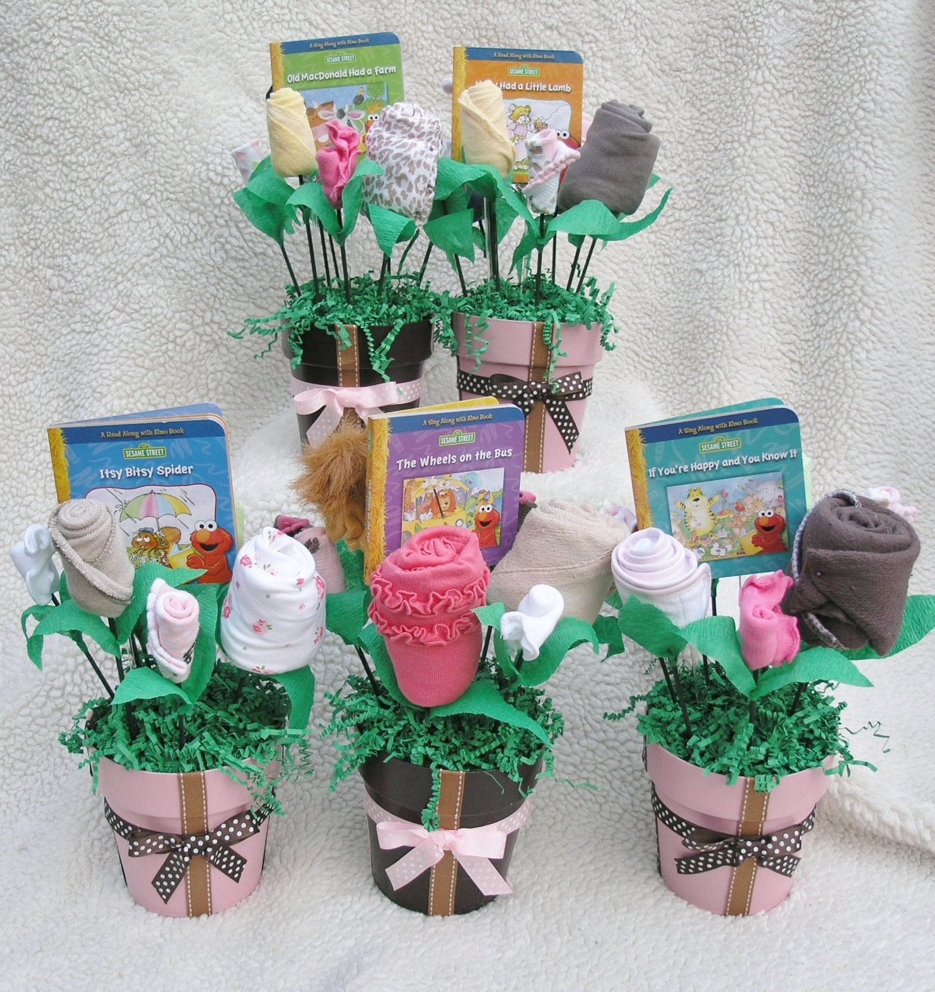Baby Shower Centerpieces Homemade: Baby Shower Centerpieces Ideas For Girls