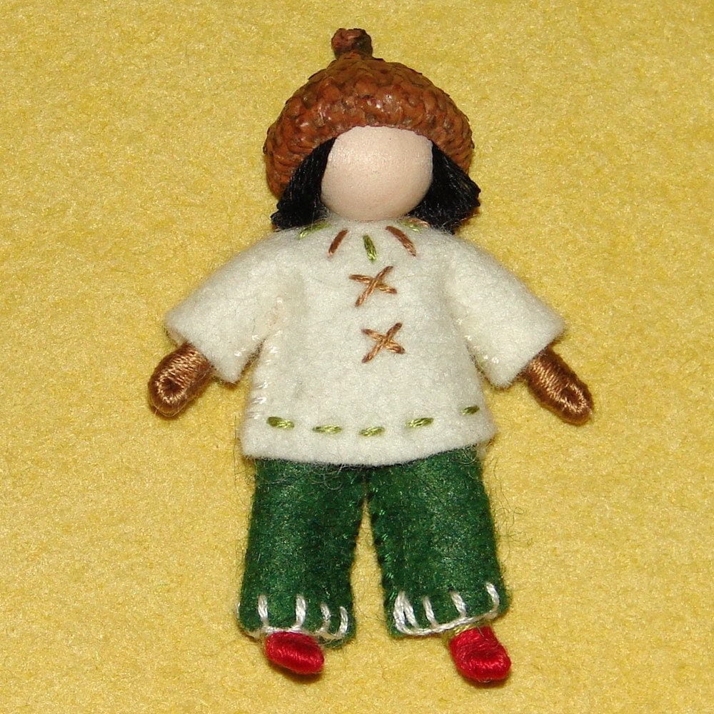 Little Waldorf Inspired Doll