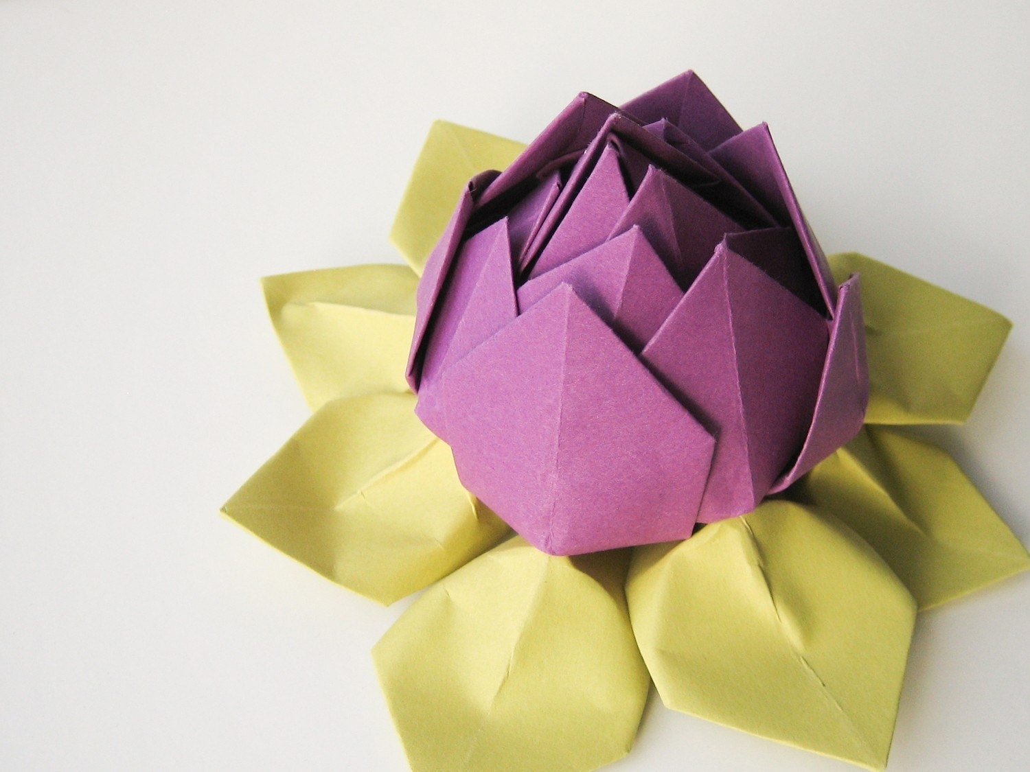 LOTUS FLOWER ORIGAMI EMBROIDERY & ORIGAMI