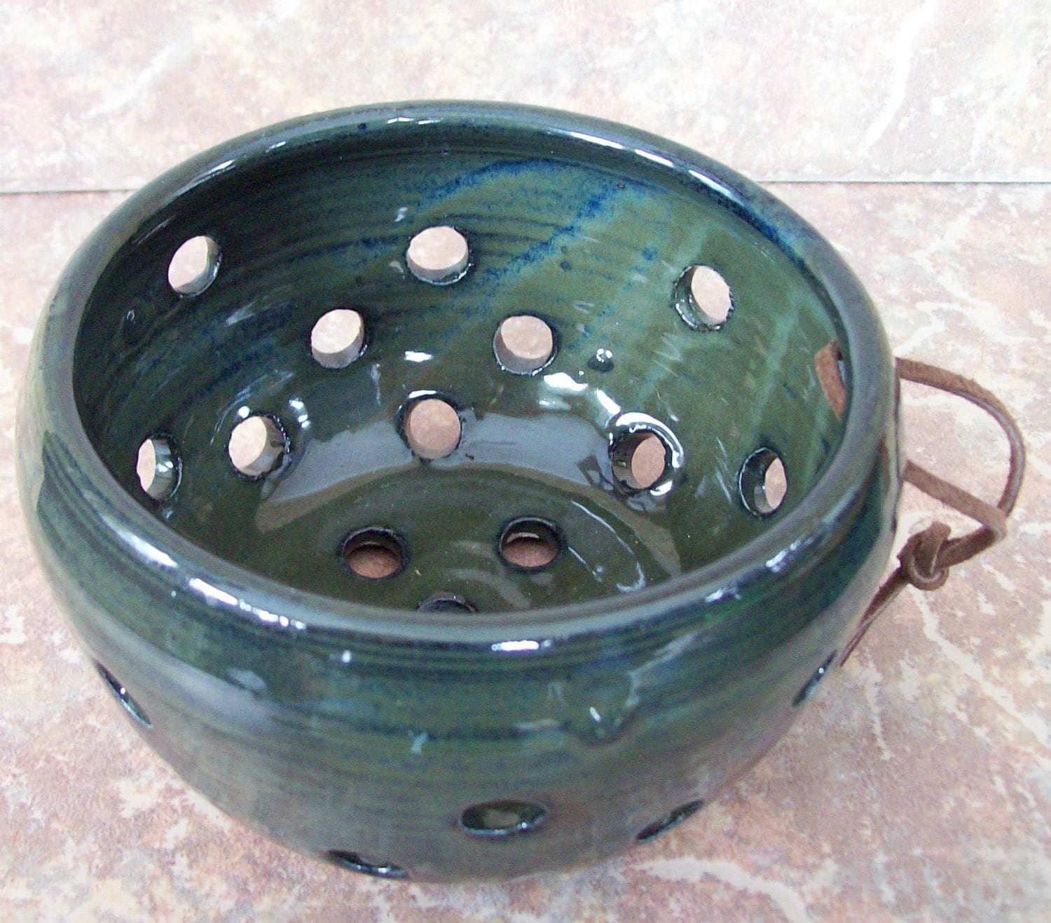 Handmade Pottery Berry Bowl--ON SALE NOW