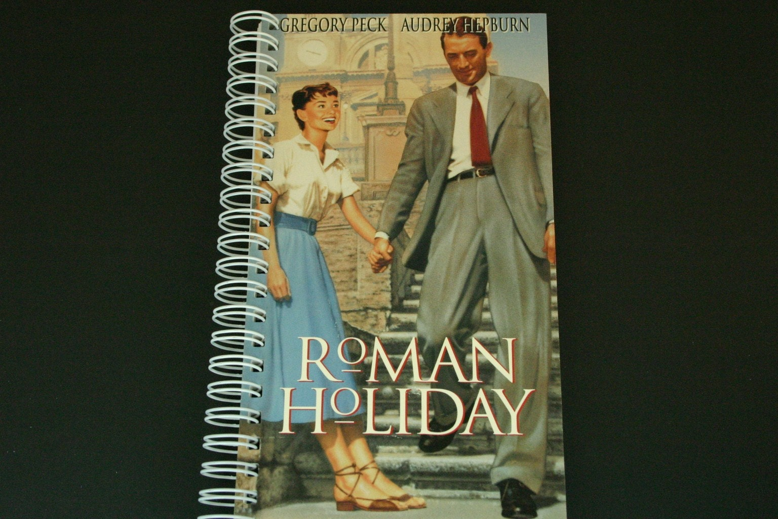 ROMAN HOLIDAY Recycled VHS Movie Case JoUrNaL
