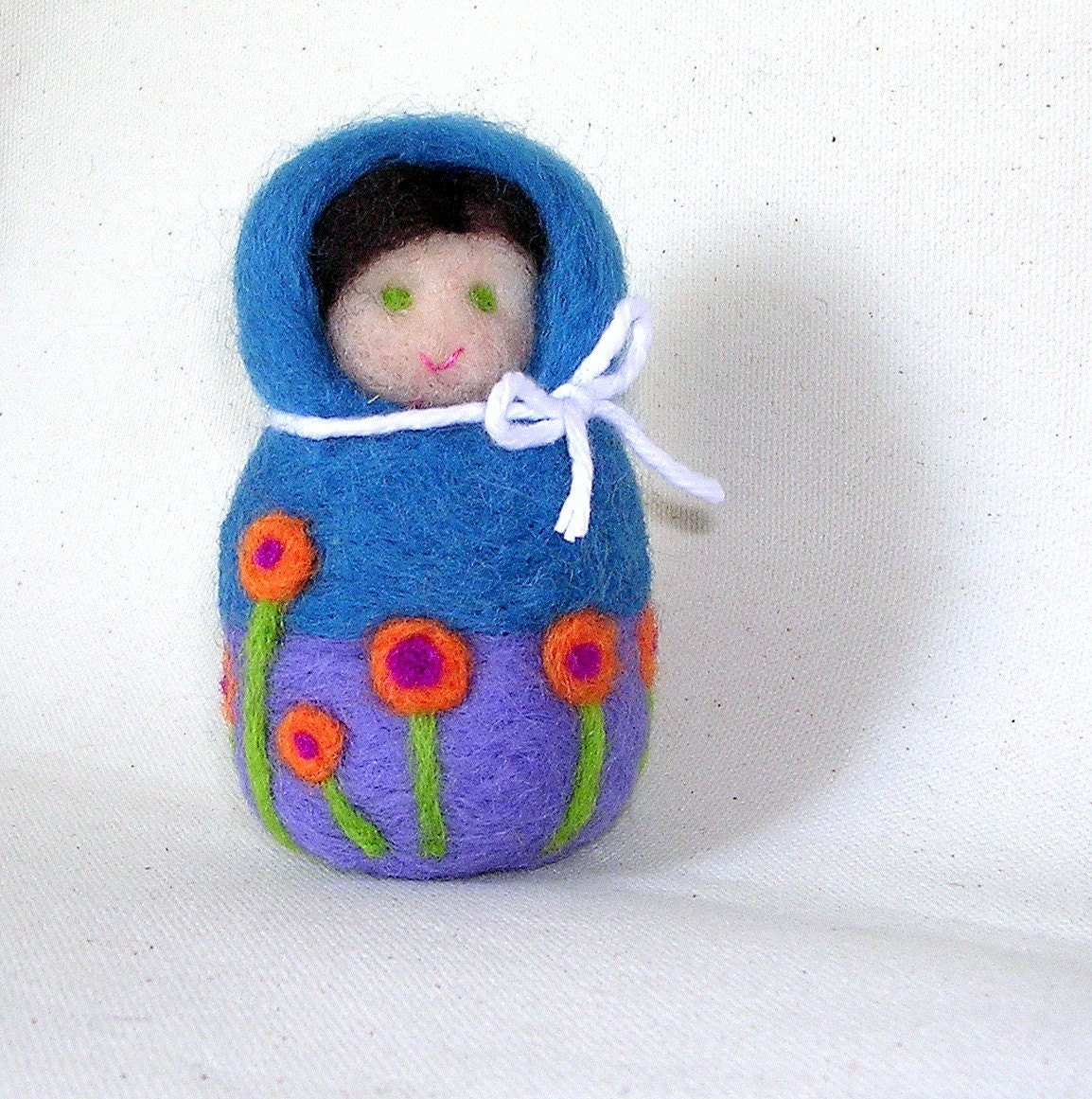 Needle Felted Matryoshka doll Made To Order