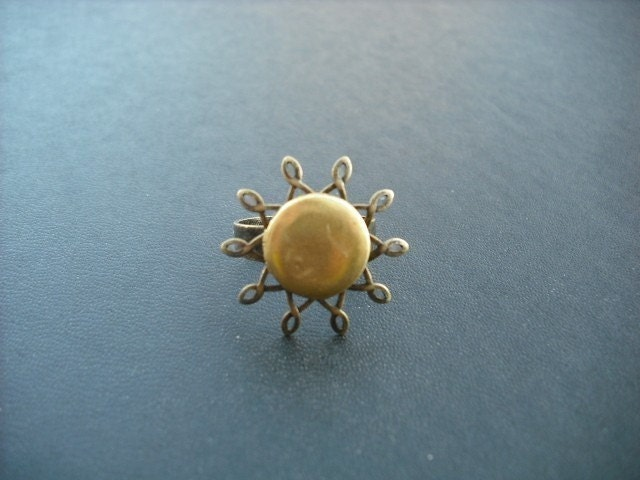 sunshine - locket ring
