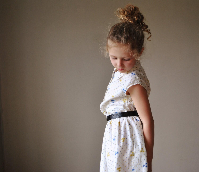 1950s Clover summer dress, size 6/7/8 - salvagehouse