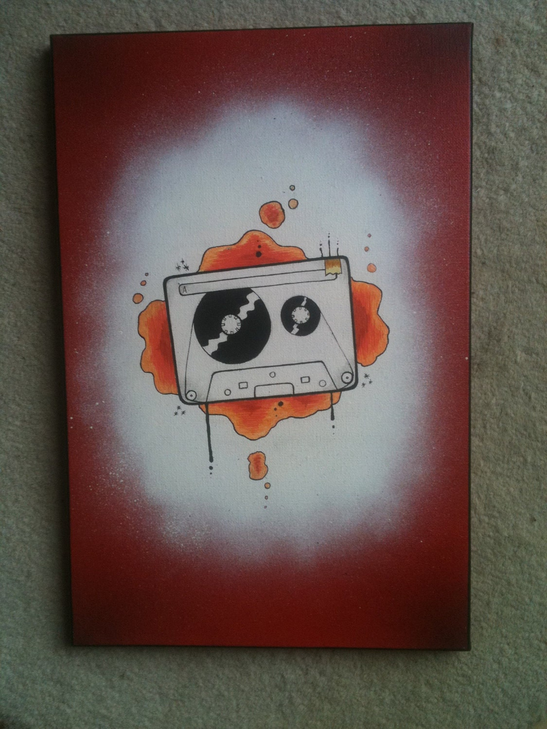 Cassette Tattoo New School