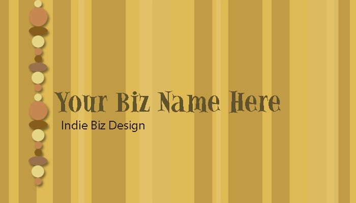 Business Card Stripe Designs