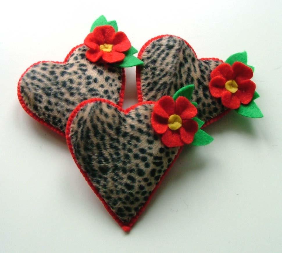 Leopard Print Heart Tattoo