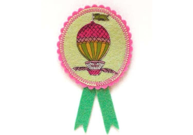 hot air balloon iron on patches