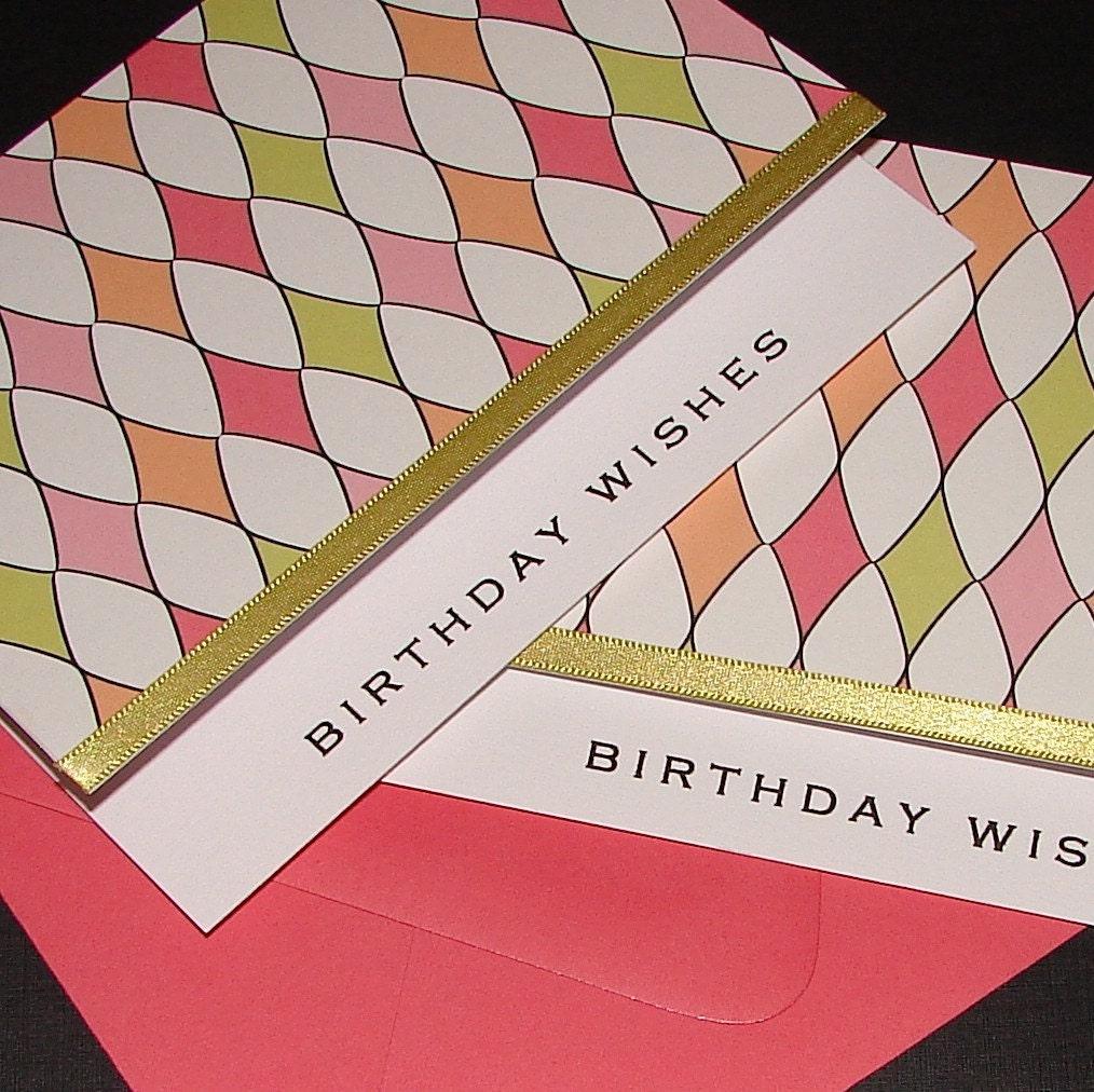 birthday cards for men handmade. Harlequin Birthday Cards -