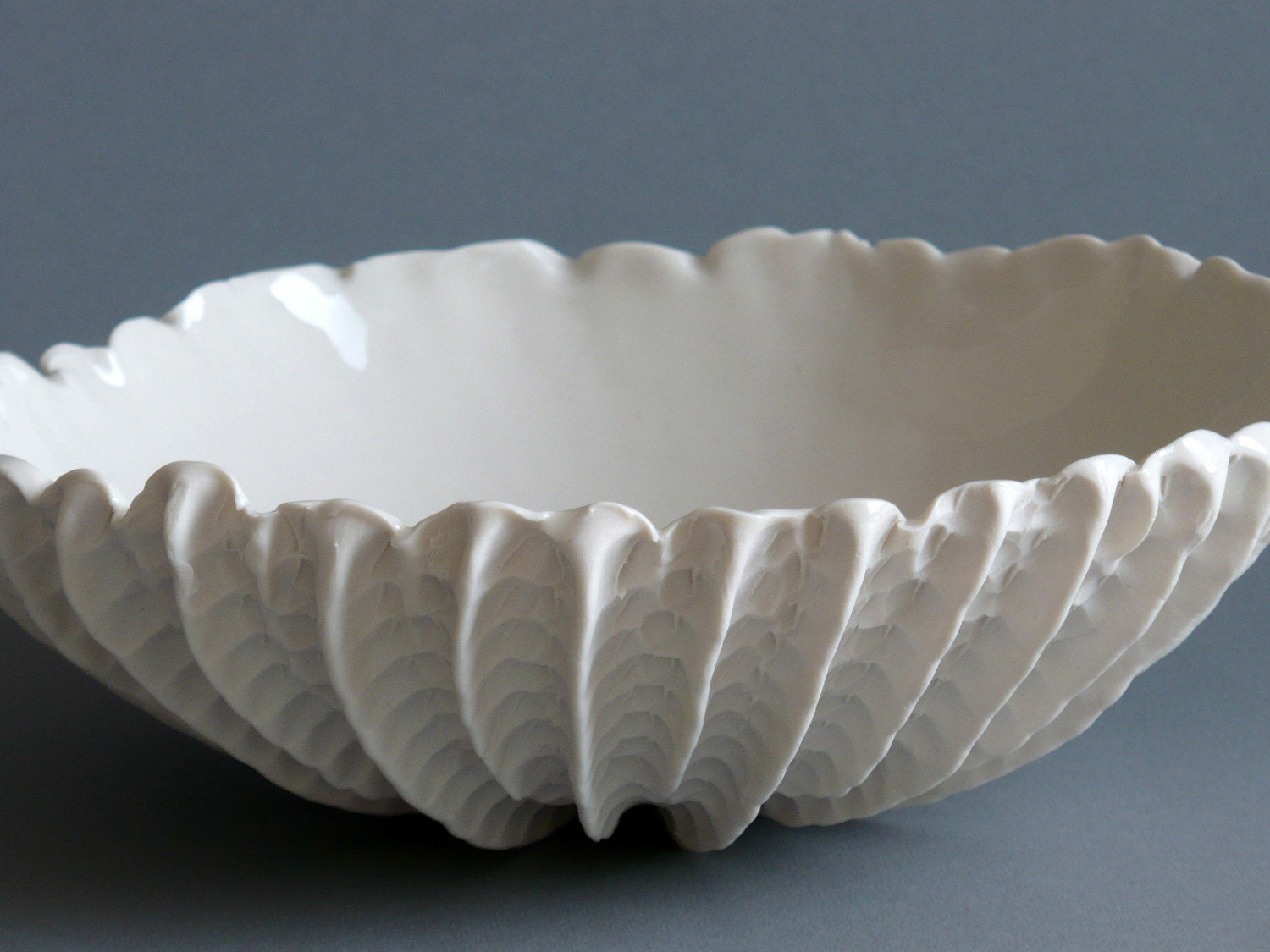 Small Scallop Bowl