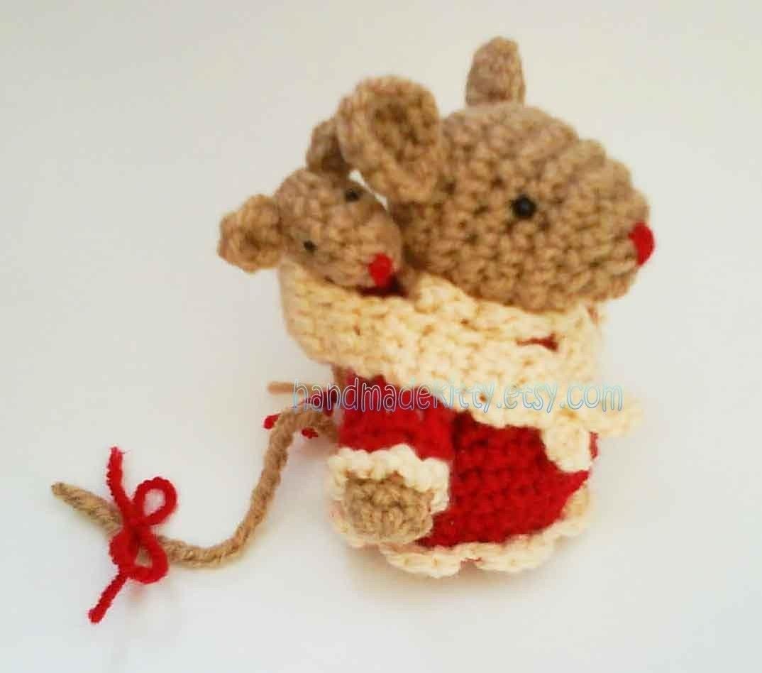 Free Amigurumi Crochet Patterns Mouse : HandmadeKitty: Mommies and Babies Amigurumi Crochet Patterns