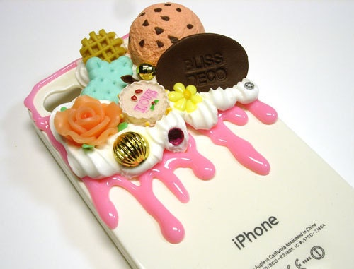 Case mobile phone sweet deco-Blissdeco052-FREE SHIP