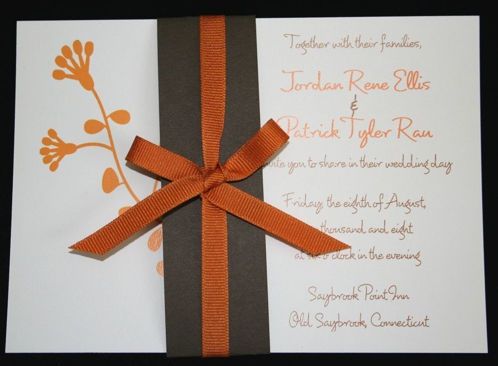 The Karen - Eco-Friendly Wedding Invitation