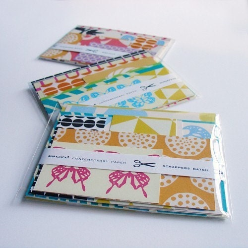 SCRAPPERS BATCH PAPER SAMPLER