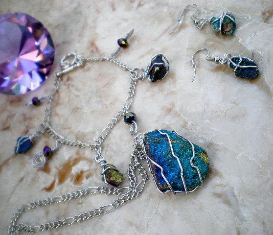 Items similar to Chalcopyrite (Peacock Ore)/ Bornite/ Raw ...