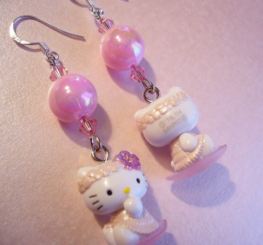 sterling silver hello kitty jewelry