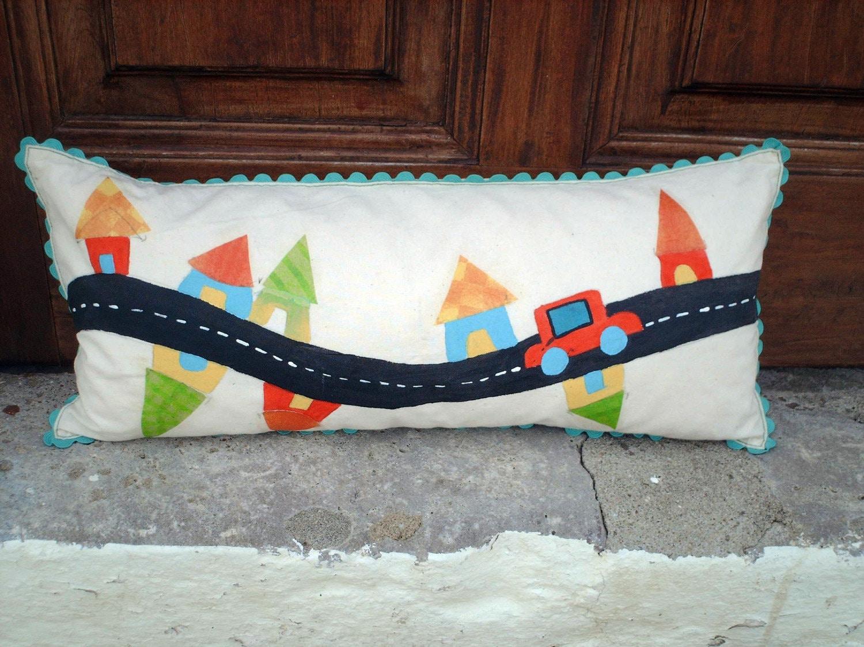 Road Pillow