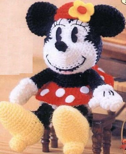 Items similar to amigurumi pattern crochet Minnie mouse ...