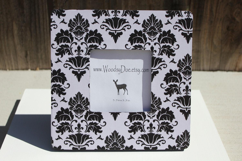 White & Black Design Frame