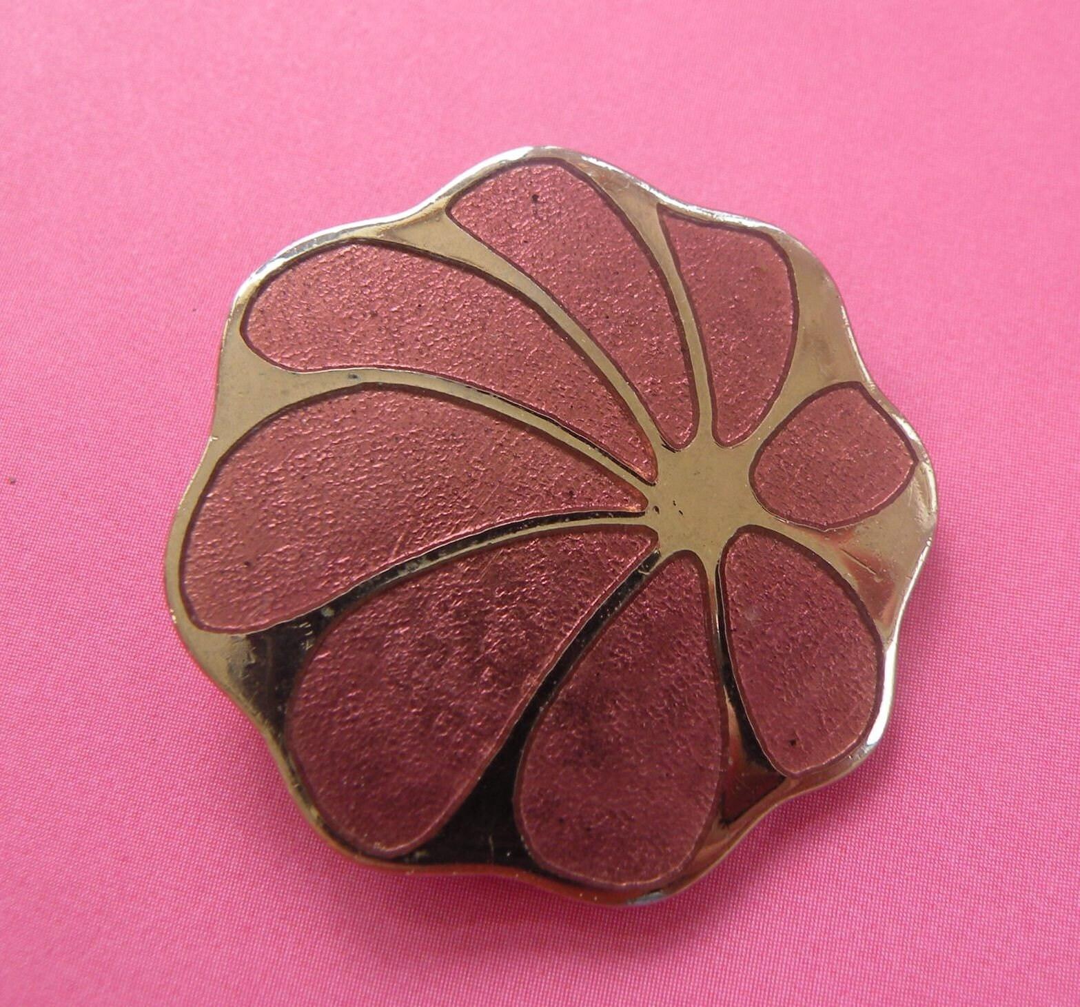Vintage Rivest Flower Pin