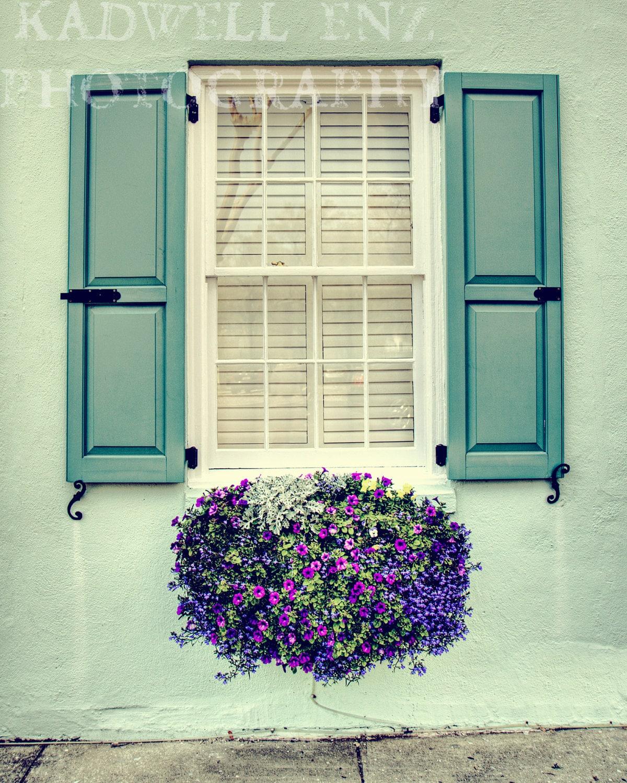 Window Flower Box In Charleston South Carolina By