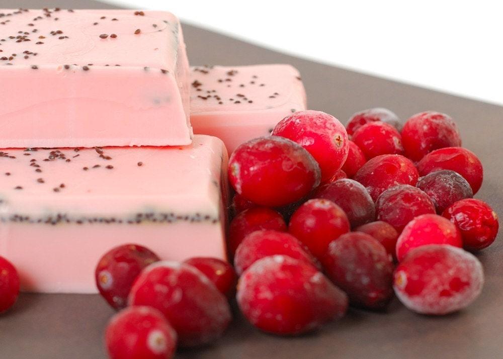 Crazy Cranberry Soap
