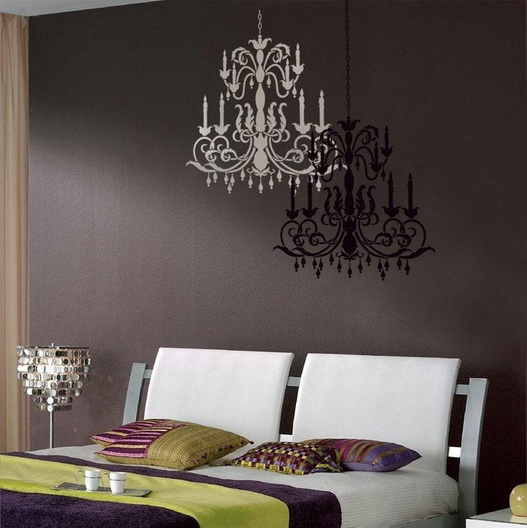 Boiserie c stencil project pi di 40 idee per mobili - Stencil per parete ...