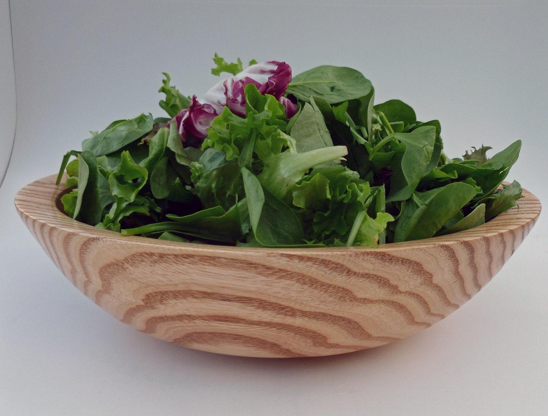Wooden Bowl Coffeetree Bowl Salad Bowl Handturned Fruit Bowl Wood Bowl - mcarroll5