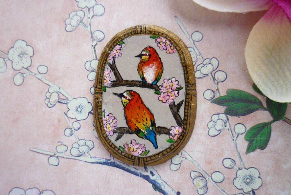 Pretty Bird Brooch