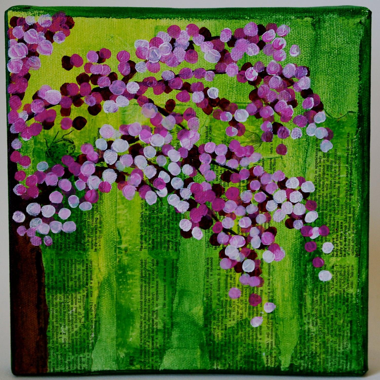 Набор из трех Цветет весной