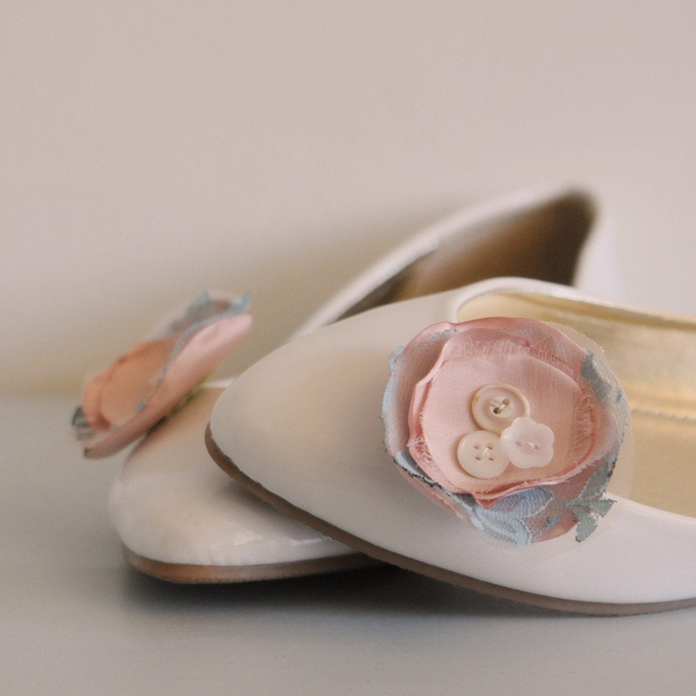 Blossom Flower Shoe Clips