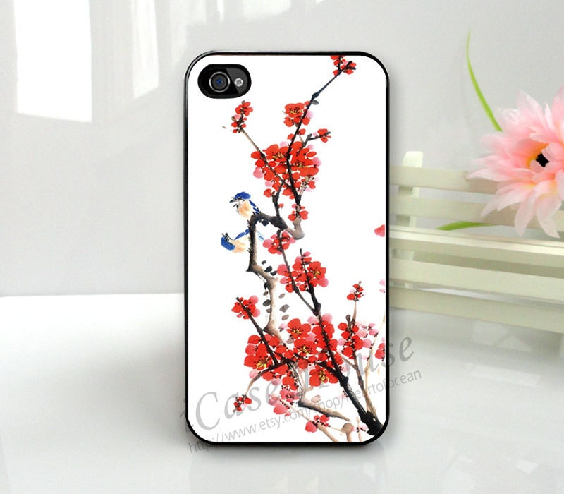 iPhone 4 Case , iPhone 4s Case,  iPhone 4g Case,  Plastic Hard Case-floral,  iPhone Case