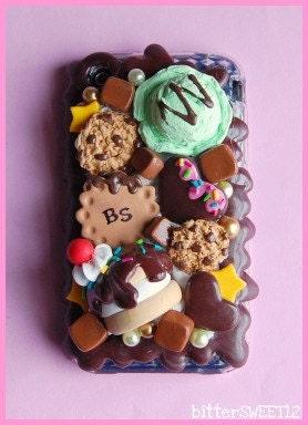 B.SWEET Chocoholic Caramel Lovers iPhone 3G Case