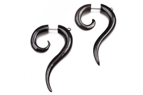 Buffalo Horn Earrings