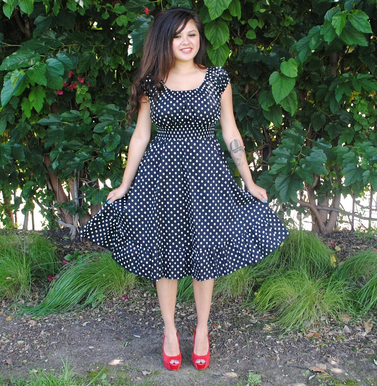Black Plus Size Rockabilly Dresses