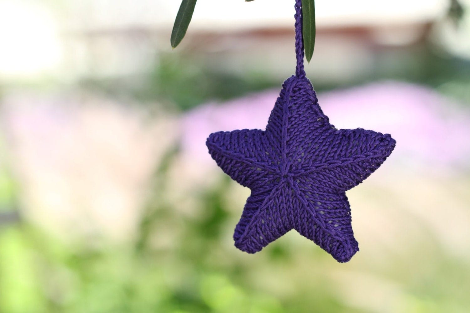 Knitted Starfish Pattern : KNITTED Starfish Ornament PDF PATTERN by etty2504 on Etsy