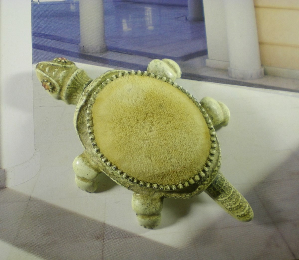 Vintage 1950s Florenza Figural Movable Parts Turtle by paleorama from etsy.com