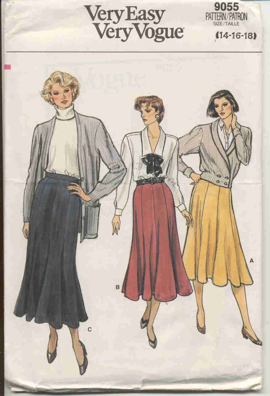 Gore Skirt Pattern 55