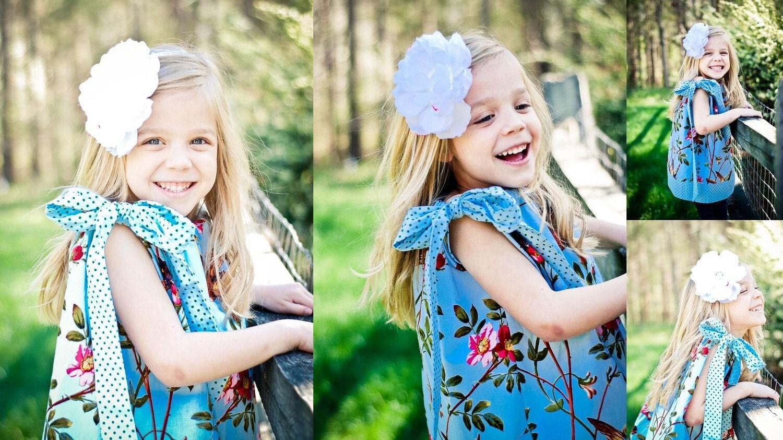 NEW...Betsy-Pillowcase Dress-Bonnes Amies Blue