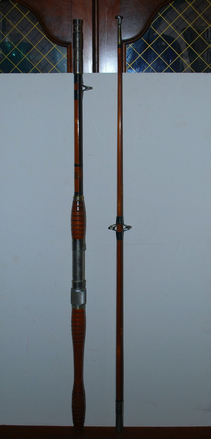 Take 60 off with coupon wild60 vintage tonkin by capecodgypsy for Montague fishing rod