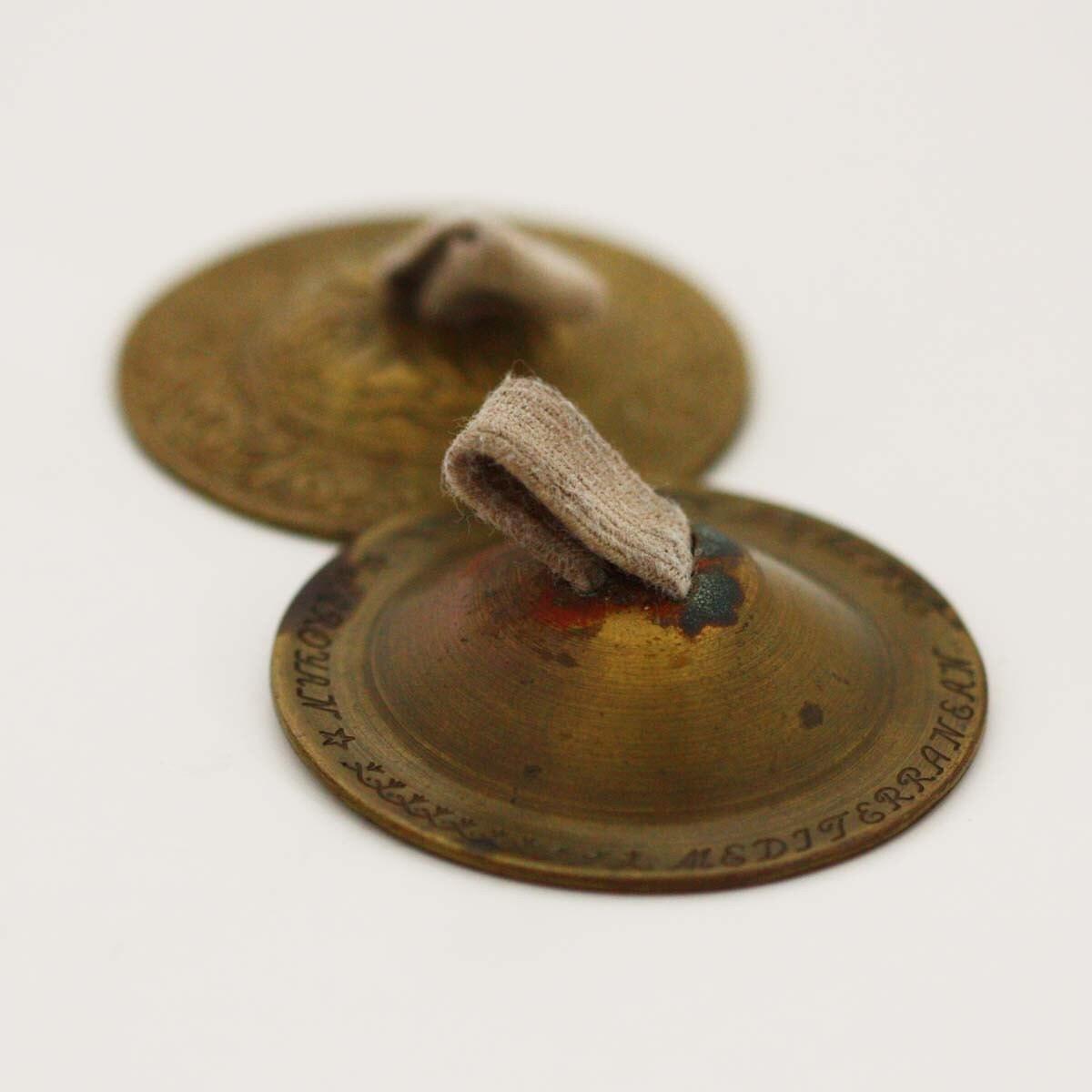 Vintage Saroyan Zills Brass Finger Cymbals by ...