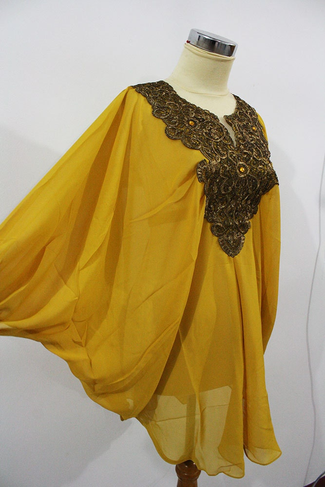 Yellow Sequin Blouse 41