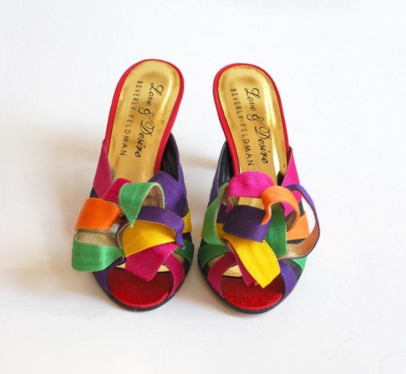 6900ae7e2579b Vintage Chalet : Love Me Some 80's Heels Beverly Feldman Vintage ...