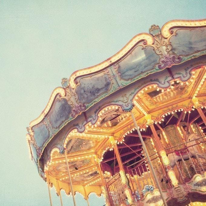 Ticket to ride - Fine art photograph - merry-go-round