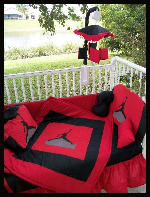 Cheap Jordan Crib Bedding