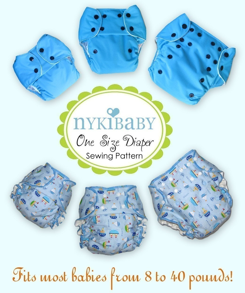 Sew Your Own Diapers: Sew Your Own Diapers
